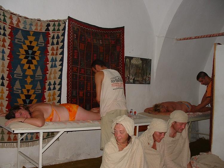 Tyrkiskbad massage